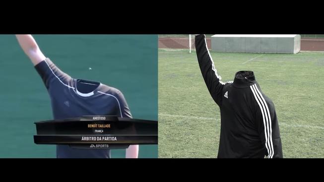 Jak to vypadá, když se převedou bugy ze hry FIFA do skutečného života