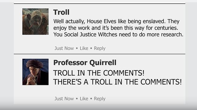 Kdyby měl Harry Potter Facebook – Bradavice by nebyly nikdy stejné!