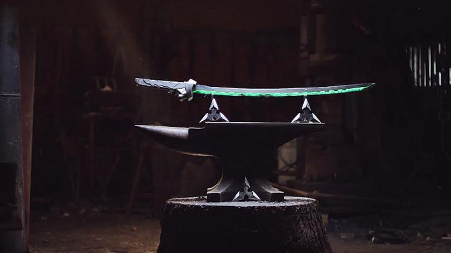 Podívejte se, jak se vyrábí meč pro Genjiho z Overwatche