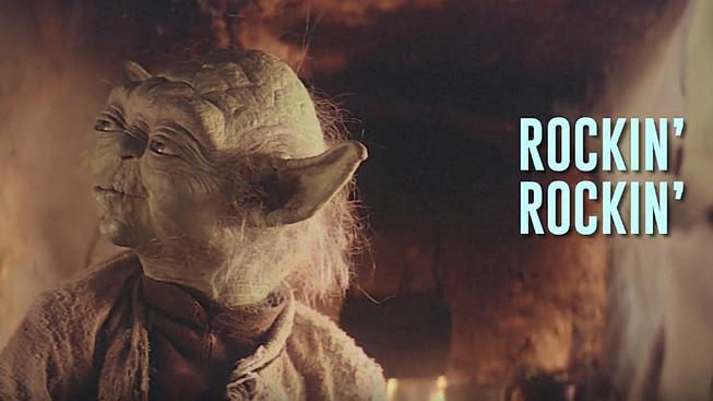 Poslechněte si nebezpečně vlezlý song od Mistra Yody, který zaručeně pobaví
