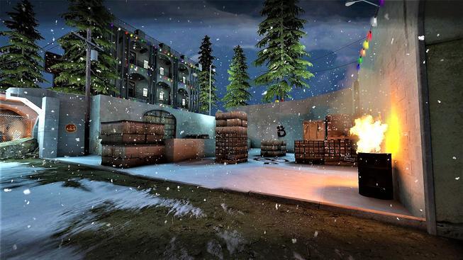 Mrkněte na vánoční mapy do Counter-Striku