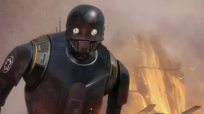 C-3PO nadával robotovi K-2SO z Rogue One