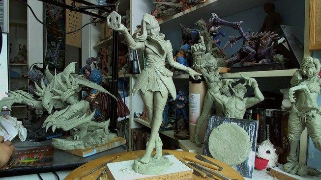 Podívejte se na výrobu úžasných sošek z Overwatche!