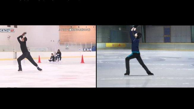 Krasobruslař napodobil tanec na ledě z anime Yuri on Ice
