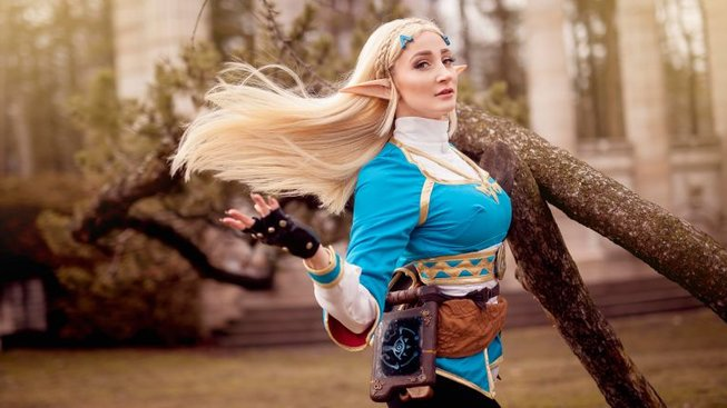 Skvělý cosplay ke hře The Legend of Zelda: Breath of the Wild