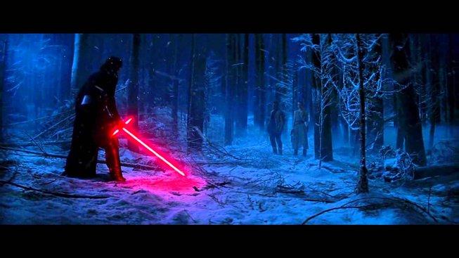 Stupidní video pro páteční den: Souboj Kylo Ren a Rei se zvukovým efektem od Anakina