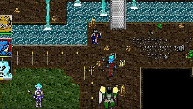 World of Warcraft ve stylu her pro NES