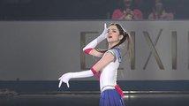 Krasobruslařka v Tokyu předvedla svojí lásku k anime