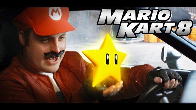 Trailer na Fast and Furious ve stylu Mario Kart