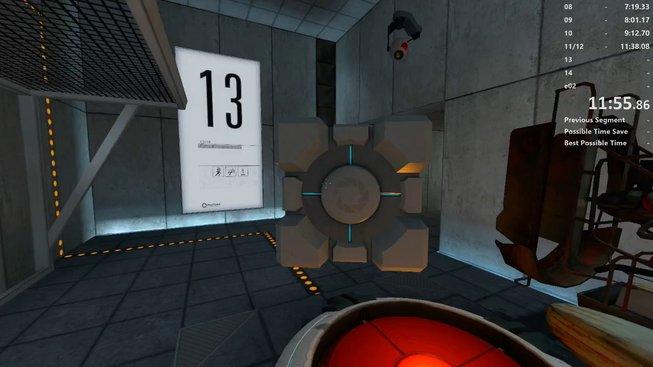 Borec prošel hru Portal bez použití portálů