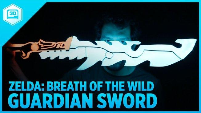 Nádherný meč ze Zelda: Breath of the Wild si můžete udělat sami doma