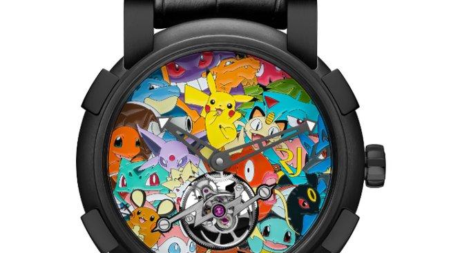 pokemon hodinky