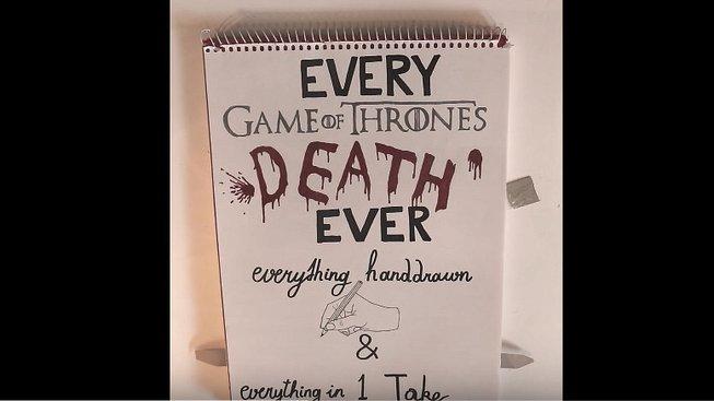 Fanoušek vytvořil každou důležitou smrt z Game of Thrones jako interaktivní obrázek