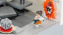 Lego inspirované hrou Portal