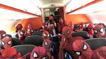 Letadlo plné Spider-Manů!