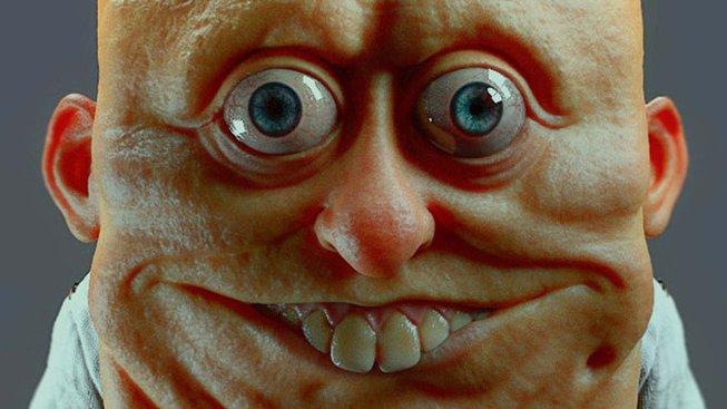 Realistický Spongebob v kalhotách je něco z nočních můr