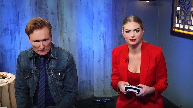 Další bezradný hráč s Conanem O'Brienem je o prsou a svádění
