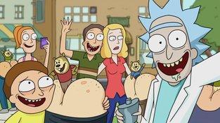 Podívejte se na znělku k Rick a Morty, která je ovšem trochu jinak