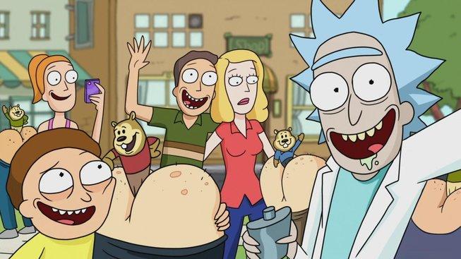 Rick a Morty vypadá v plastelínové animaci dobře