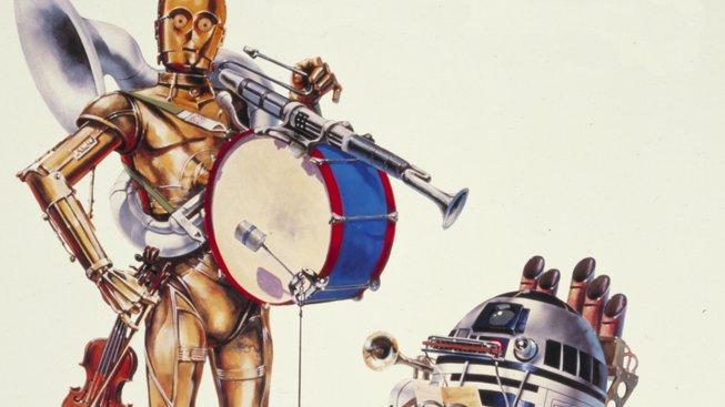 Poslechněte si tenhle remix vytvořený ze zvukových efektů Star Wars