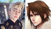 Muž utratil hromadu peněz aby se stal svým vzorem z Final Fantasy VIII,