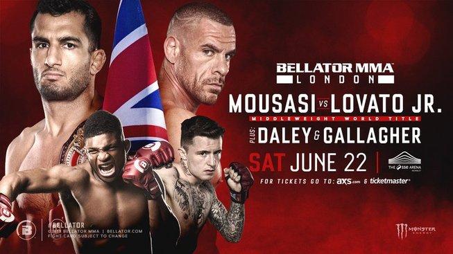 Londýnský Bellator odkrývá další zápasy, Daley a Gallagher znají soupeře