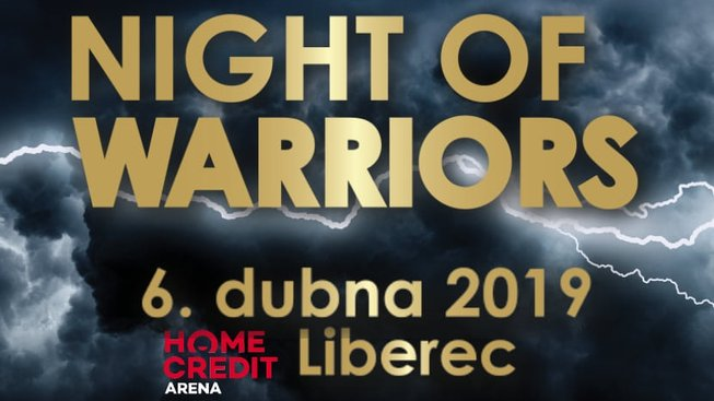 Night Of Warriors XV nabídne Peštu, Muradova i Vémolu