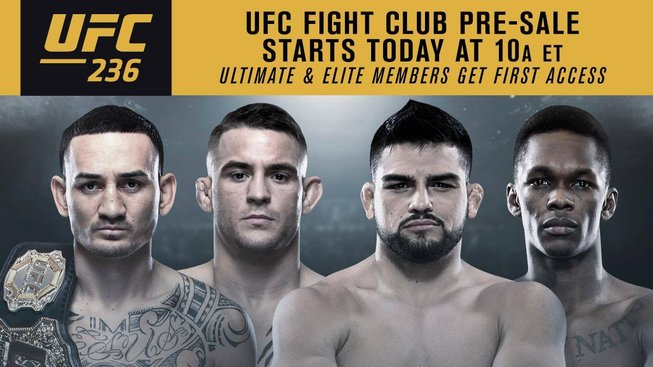UFC 236 za dveřmi: Kelvin Gastelum vs. Israel Adesanya a Max Holloway vs. Dustin Poirier