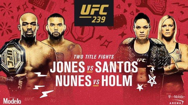 UFC 239: Dva souboje o titul v jediný večer