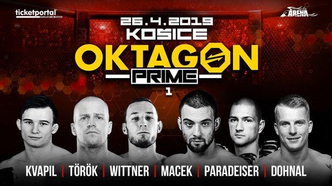 Oktagon Prime 1: Wittner proti Horváthovi v premiérovém turnaji na Slovensku