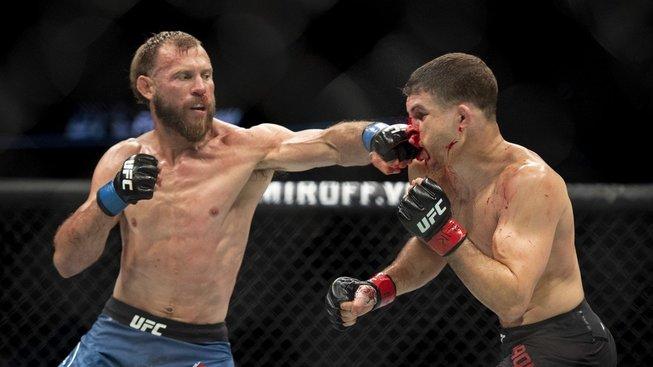 UFC Cerrone vs Iaquinta: výsledky