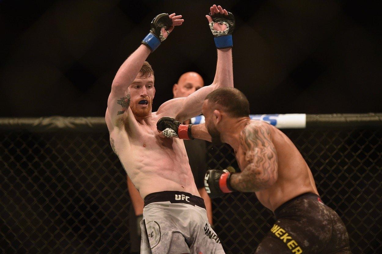 UFC Jacare - Hermansson - výsledky