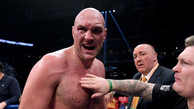 V Praze vystoupí Tyson Fury, na podiu se s ním objeví také Végh s Vémolou