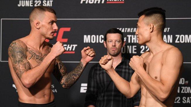 Korejec si získal UFC rychlým KO, Lineker nenastoupil kvůli podivným okolnostem