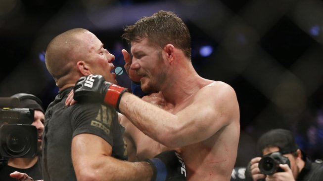 Georges St. Pierre - Michael Bisping