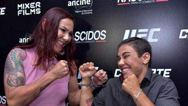 Mezi šéfem UFC Danou Whitem a bojovnicí Cris Cyborg to pěkně vře