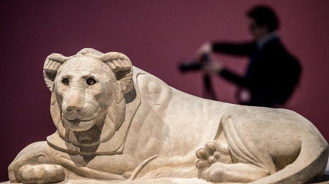Mazlíčci slavných osobností: Faraonův lev