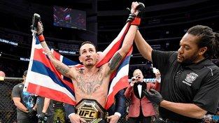 Hra o trůny v pérové váze UFC - kdo by rád sesadil šampiona Maxe Hollowaye?