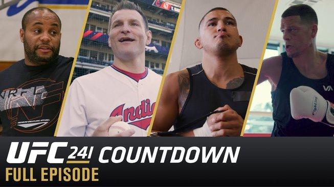 Tradiční pořad Countdown představuje čtyři hlavní účastníky víkendového UFC 241