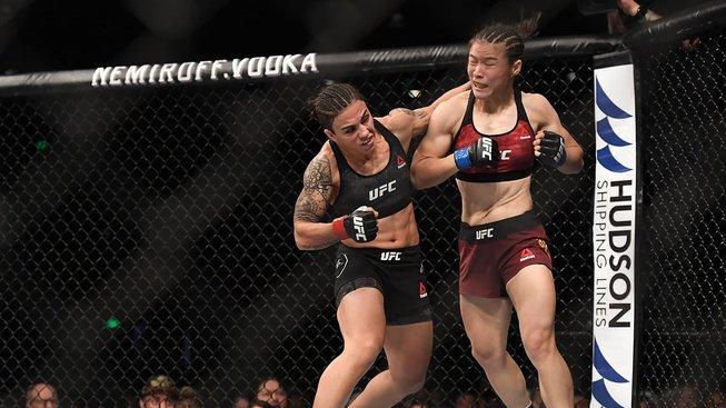 Jessica Andrade Weili Zhang