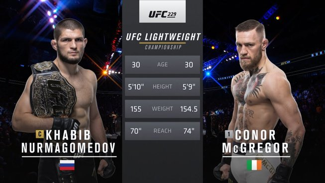 Zápas zakončený hromadnou rvačkou, podívejte se na duel McGregora s Nurmagomedovem