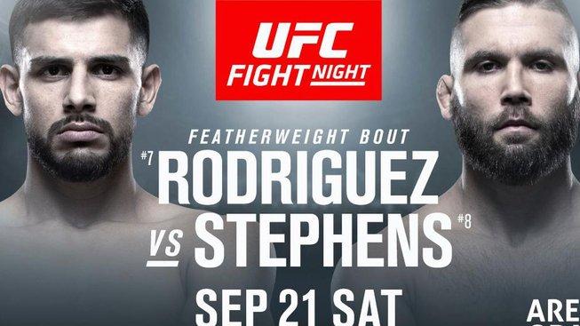 Dravý Rodriguez poměří síly s veteránem Stephensem na UFC Fight Night 159