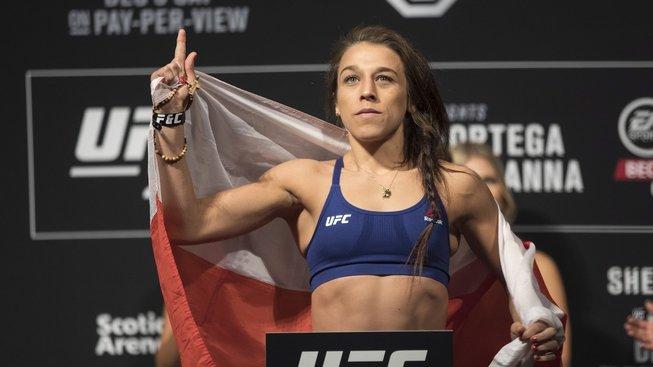"""""""Nedokážu si představit, že bojuji bez fanoušků,"""" prozradila bývalá šampionka UFC Joanna Jedrzejczyk"""