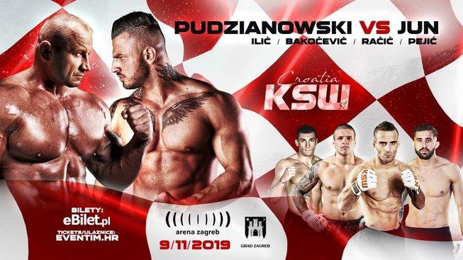 Polská KSW míří do Chorvatska a chystá porovnání s balkánskými bojovníky