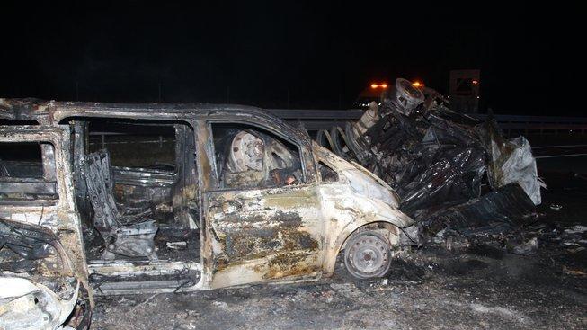 Štáb Oktagon MMA byl účastníkem nehody s hořící cisternou, organizace je prý paralyzovaná
