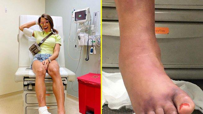 Noha Joanny vypadala hrozně, ale nakonec jí nebrání v tom, aby požadovala boj o titul