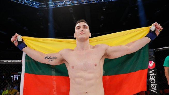 Bukauskas vládne britské polotěžké váze a velice se o něj zajímá UFC