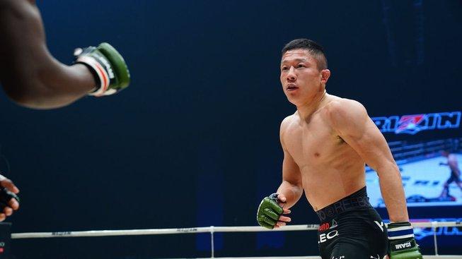 Japonský tajfun Kyoji Horiguchi se kvůli zranění vzdal titulu šampiona Bellatoru
