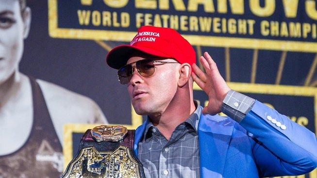 """Rasistické výroky v UFC? """"Nic takového jsem neslyšel,"""" hájí Dana White Colbyho Covingtona"""