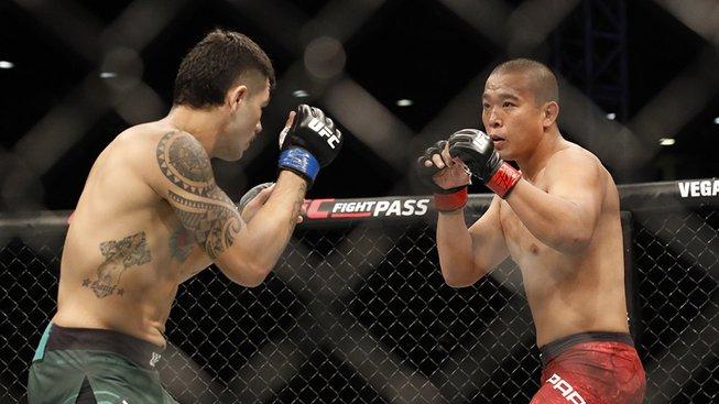Domácí Yun Jong Park oslavil první vítězství v UFC